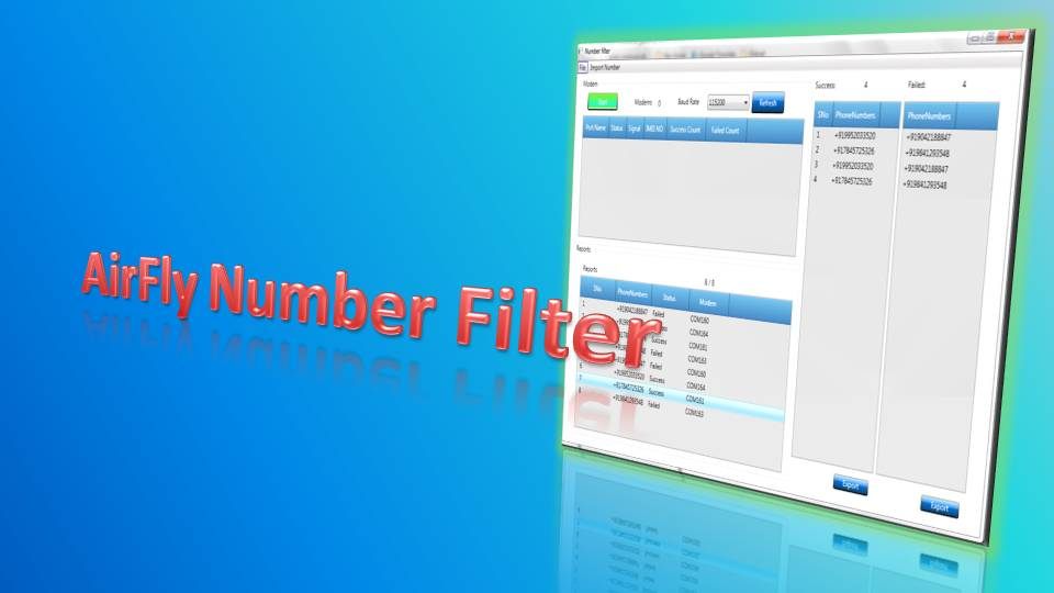 Filter Live Numbers,Its easy to Access.